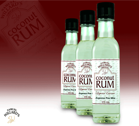 Samual Willards Coconut Rum