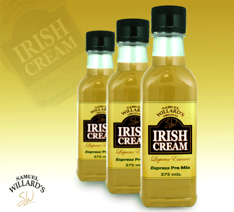 Samual Willards Irish Cream Liqueur