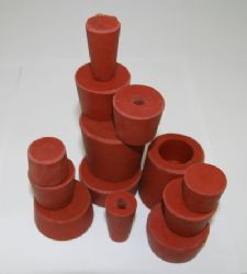 Rubber Bung 46-56mm (54lt Demijohn) With Hole